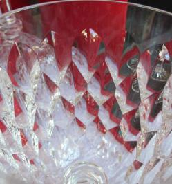 Cristal taille baccarat verre
