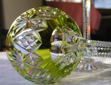 Cristal taille saint louis couleur