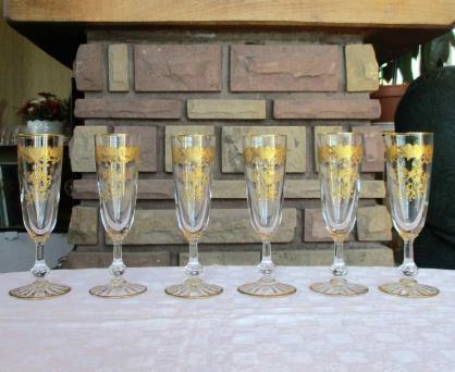 Cristallerie saint louis flutes