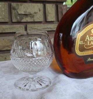 cristallerie st louis verre cognac