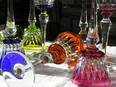 Double couleur overlay baccarat