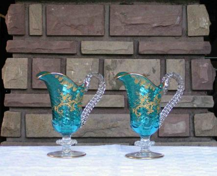 Emaille or cristal baccarat