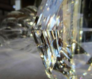Estampille saint louis cristal signature