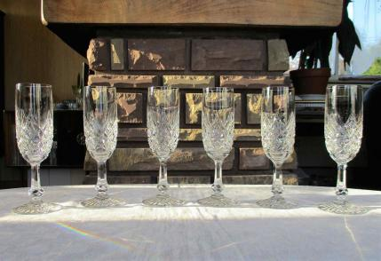 Flute baccarat champagne cristal