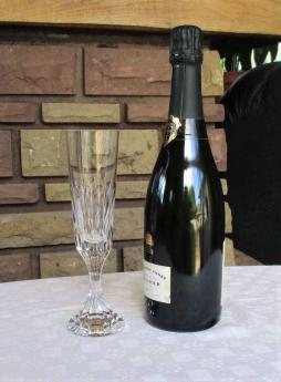 Flute champagne baccarat d assas cristal