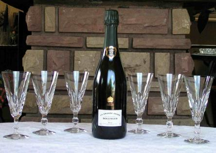 Flute champagne caracas baccarat