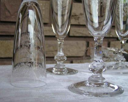 flute champagne cleo cristal