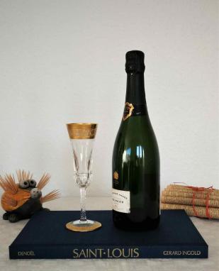 Flute champagne saint louis 1