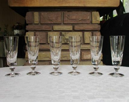 Flute jersey saint louis cristal