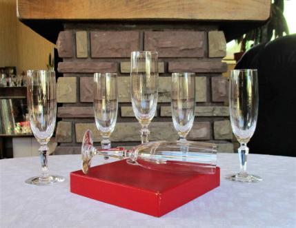 Flute naples baccarat cristal