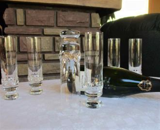 Flute saturne saint louis cristal
