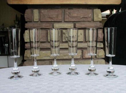 Flutes jose cristal baccarat
