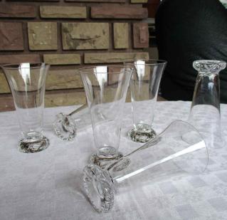 Flutes kim cristal daum