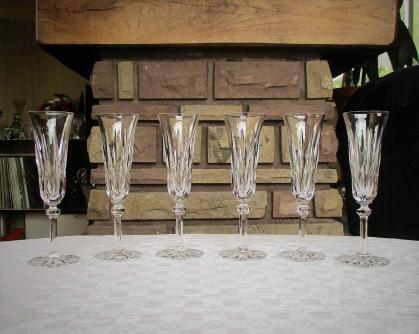 Flutes provence saint louis cristal