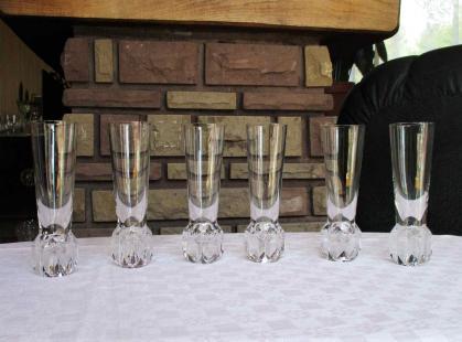 Flutes riviera saint louis cristal