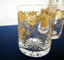 Gobelet massenet or gold cristal