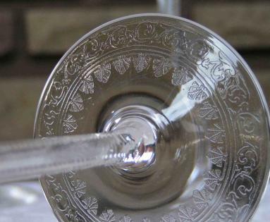Gravure cristal saint louis