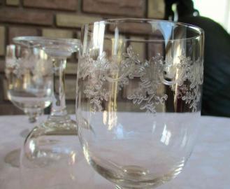 Gravure sevigne cristal verre