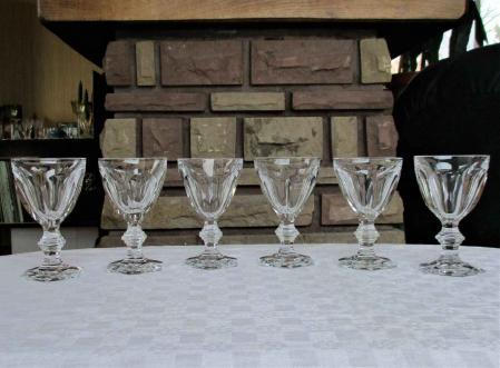 Harcourt baccarat verre vin