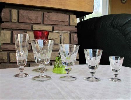 Jersey cristal saint louis verres occasion
