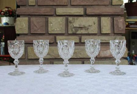 Juvisy baccarat verres cristal