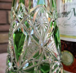 Lagny baccarat fantaisie overlay taille cristal