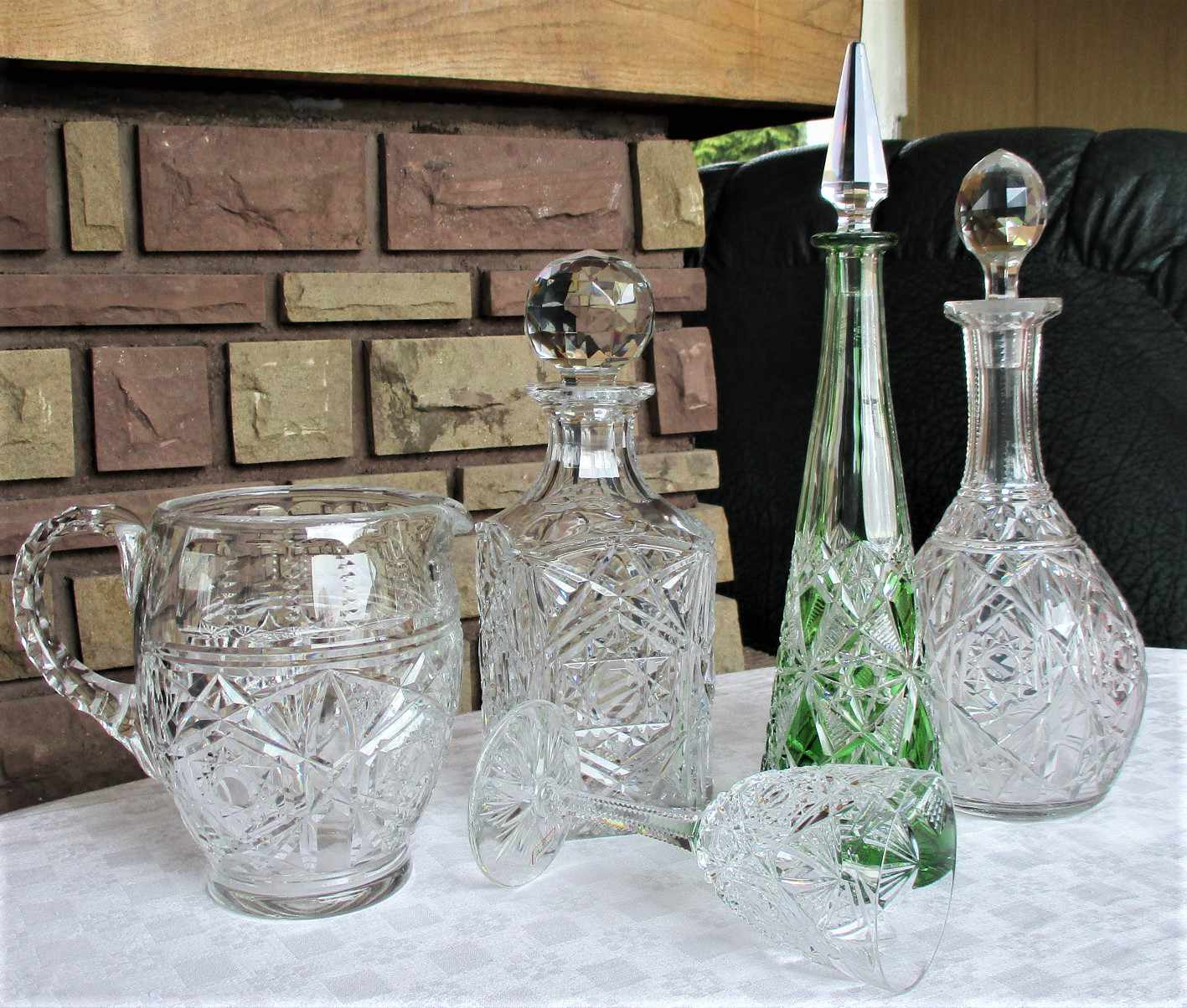 Collection Lagny, verre Baccarat