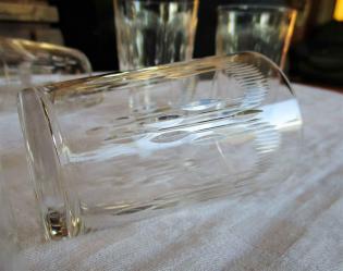 Moliere verres cristal baccarat ancien
