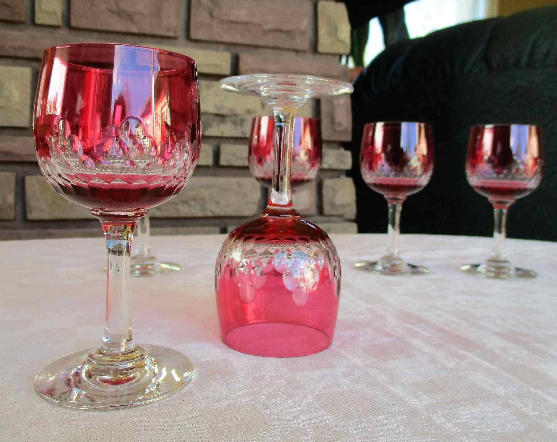 Richelieu, verres en cristal de Baccarat