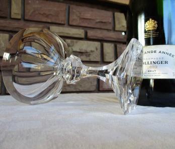 Occasion service verres coupe chambord cristal