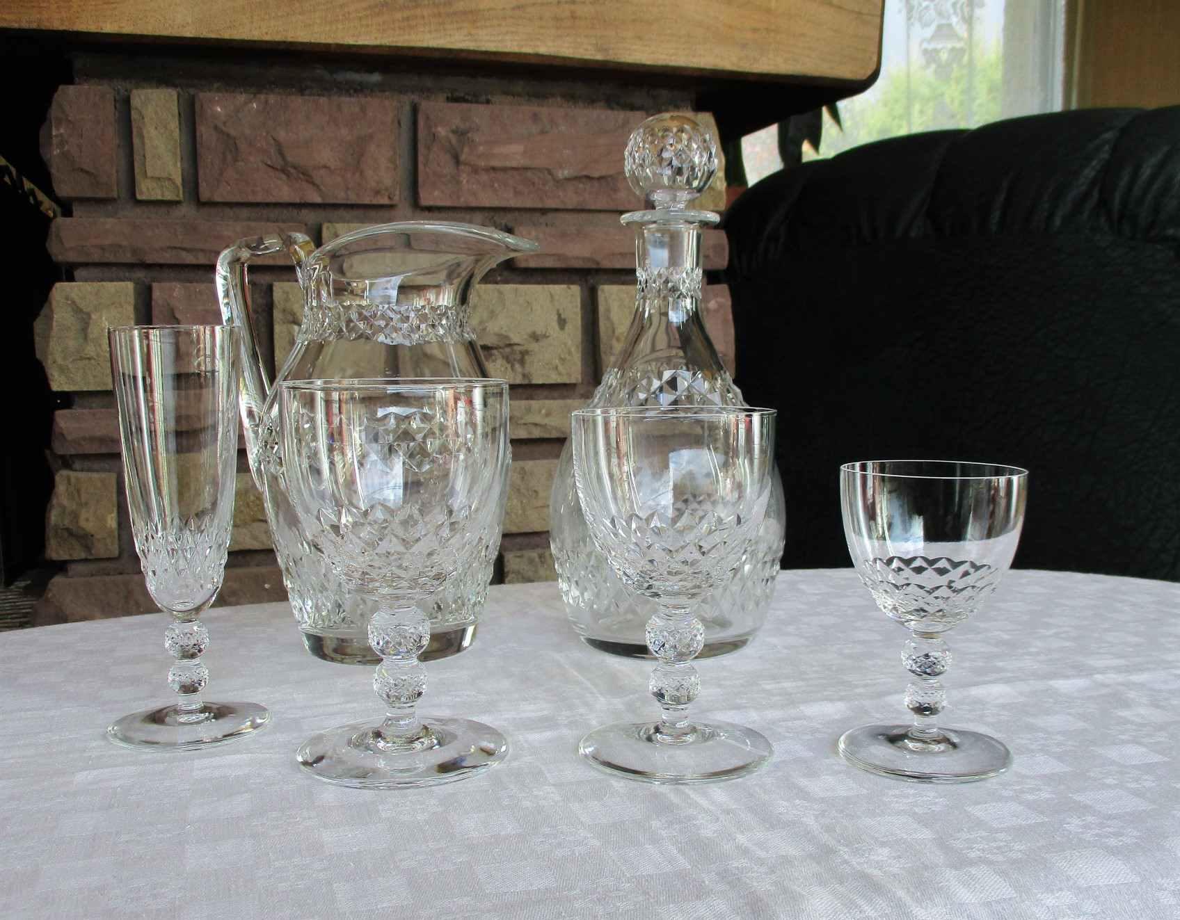Service Orly, cristallerie Saint Louis
