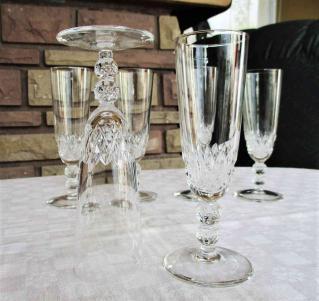 Orly saint louis flutes champagne