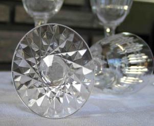 Pied etoile cristal baccarat