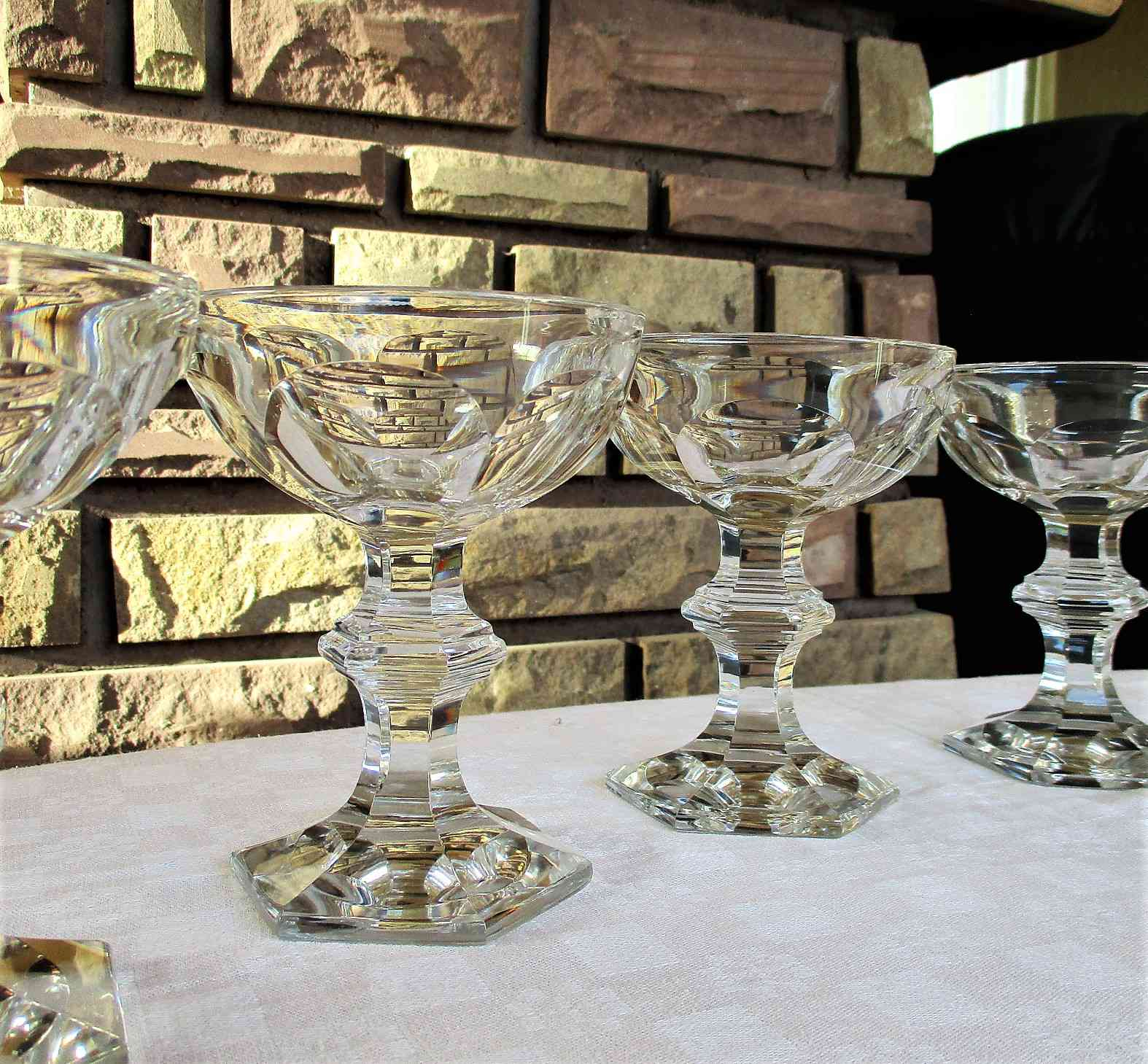 Coupe champagne Harcourt, cristal Baccarat