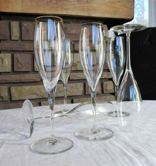 Prix flute champagne baccarat