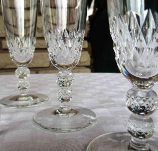Prix flute champagne st louis cristal