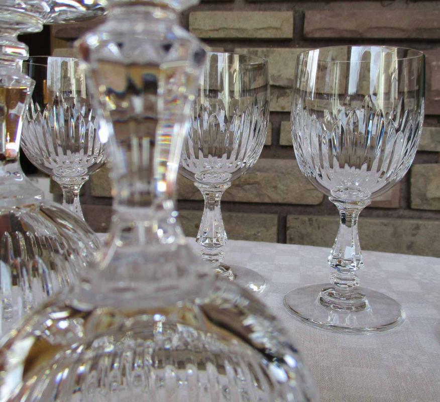 Verre cristallerie saint louis service liane - Verre saint louis prix ...