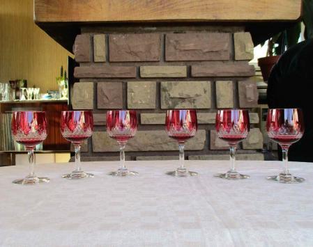 Richelieu verres baccarat cristal ancien