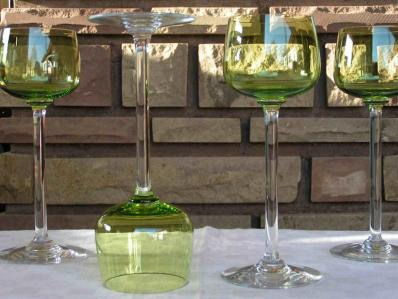 Roemers chartreuse uni cristal baccarat