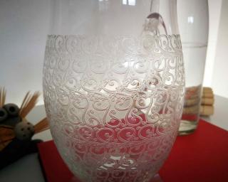Rohan cristal ancien baccarat broc