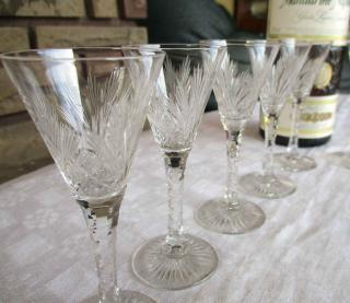 Saint louis liqueur verre