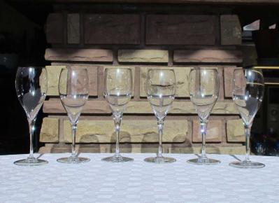 Saint remy baccarat verre vin cristal