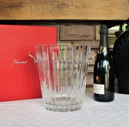 Seau a champagne cristal de baccarat