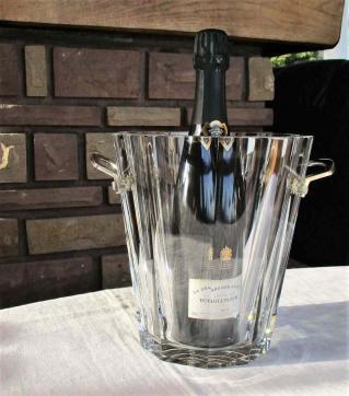 Seau champagne baccarat prix