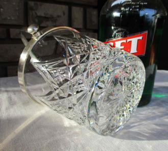 Seau cristal baccarat