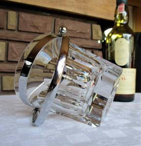 Seau harcourt baccarat cristal