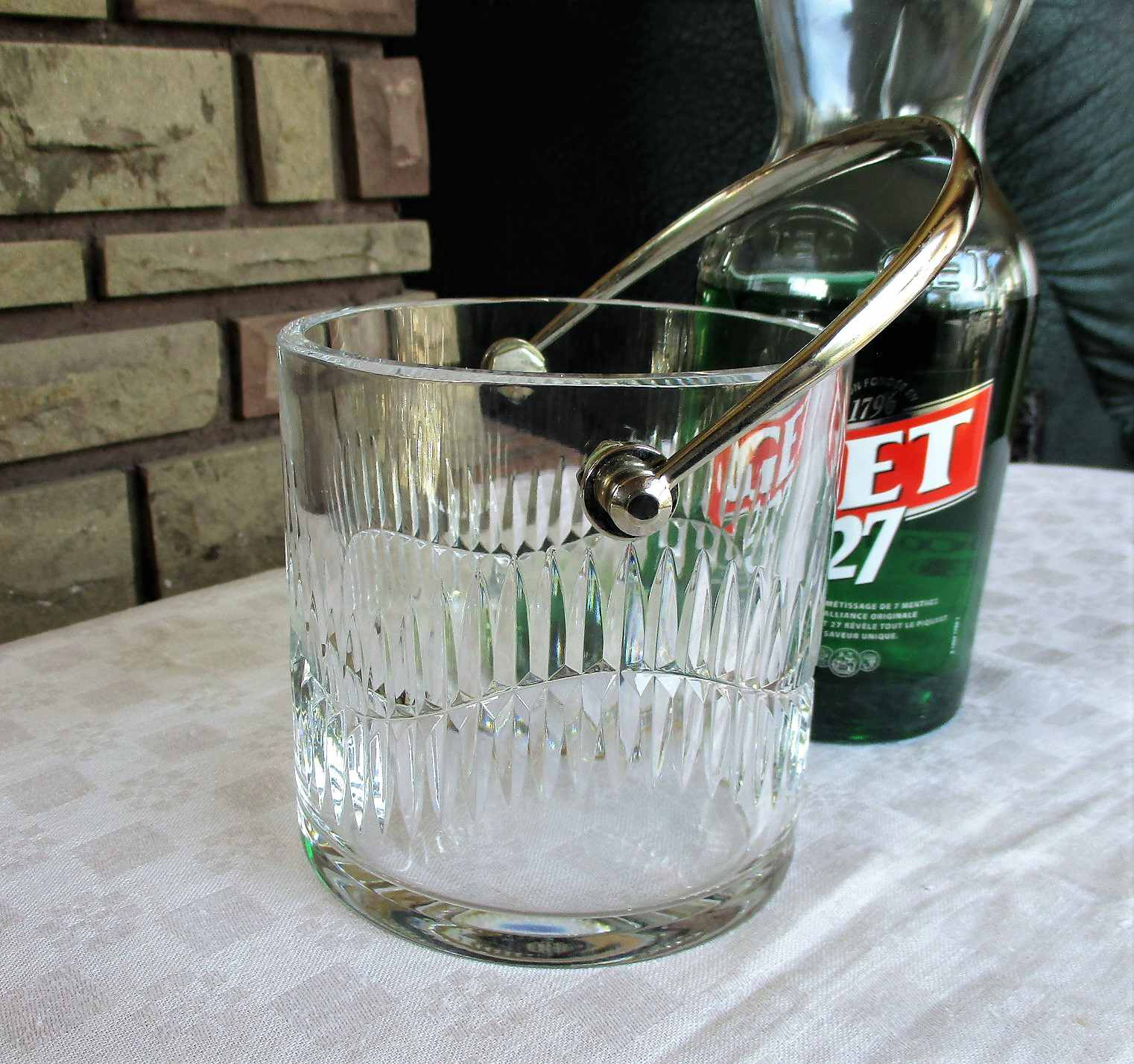 Service Serpentine en cristal de Baccarat