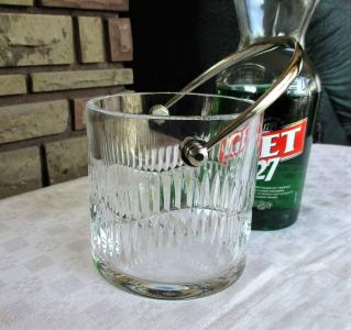 Serpentine baccarat cristal