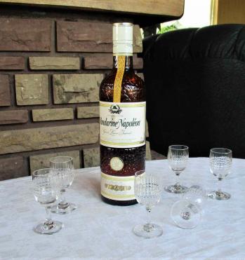 Service a liqueur verres anciens baccarat