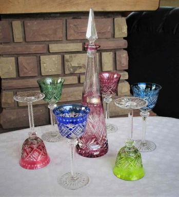 Service a vin du rhin cristal saint louis